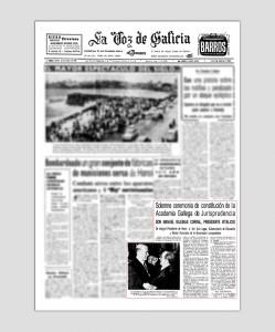 1967 LA VOZ DE GALICIA PAG01