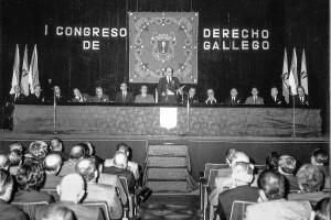 1972 23 AL 28 OCTUBRE I CONGRESO DERECHO GALLEGO
