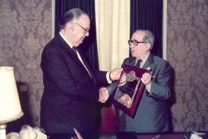 1985 CAMILO JOSE CELA y MANUEL IGLESIAS CORRAL