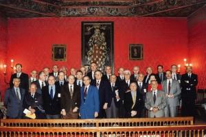 1994 5 de noviembre I ENCUENTRO GRANADA ACADEMIAS IBEROAMERICANAS